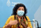 """Vizzotti dijo que la situación epidemiológica """"se encuentra dentro de lo esperado"""""""
