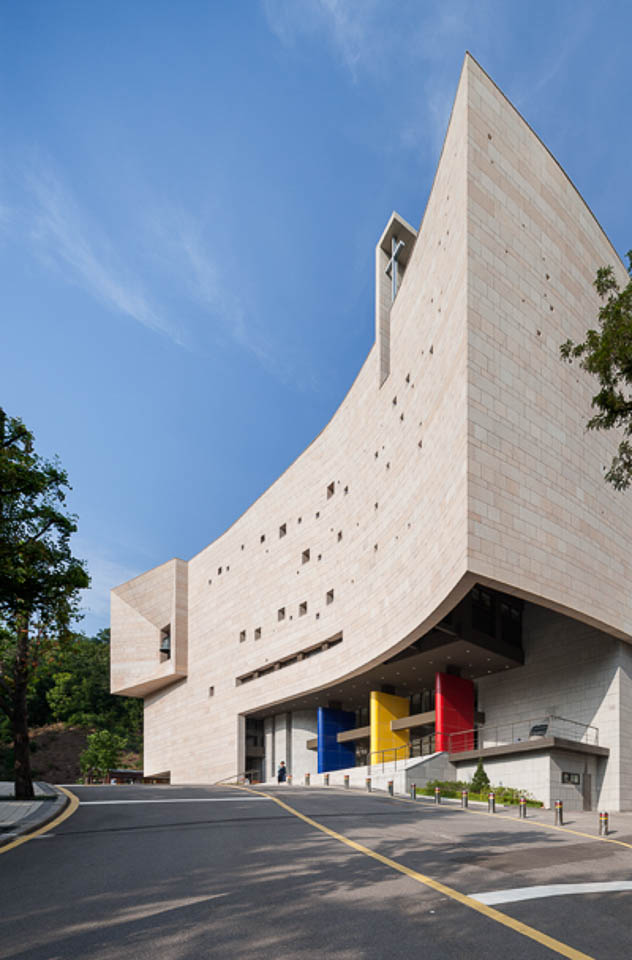 2012 Chongshin University 4 Style Lab Architects Office: Architect Ahn Eung-jun