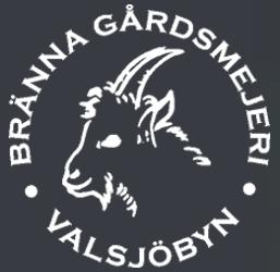 Bränna Gårdsmejeri logo