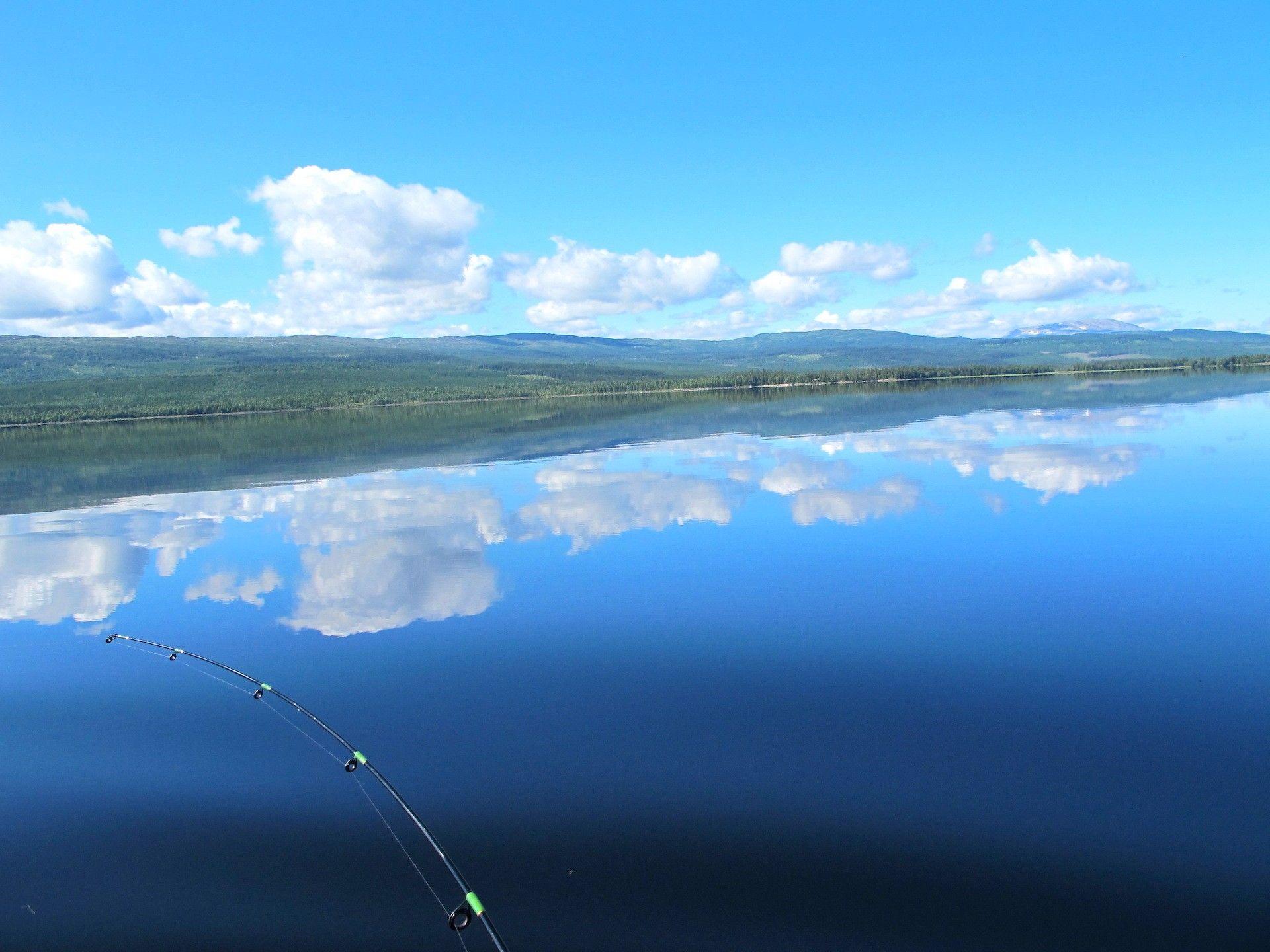 Drömfiske på Rengen. Foto © Flottargården