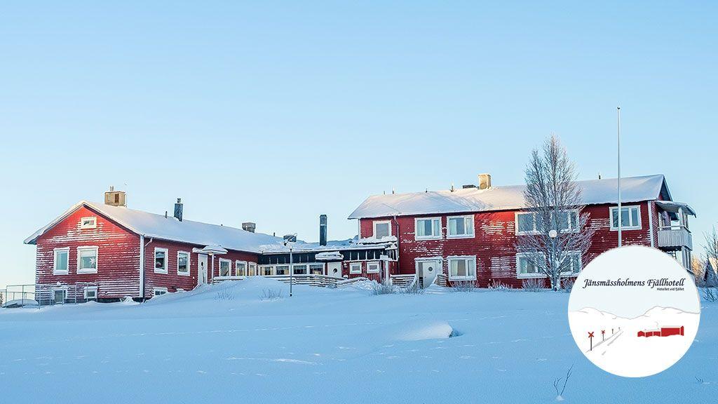 Välkommen till Jänsmässholmens Fjällhotell. Foto © Anna Elisabeth Gustafsson.