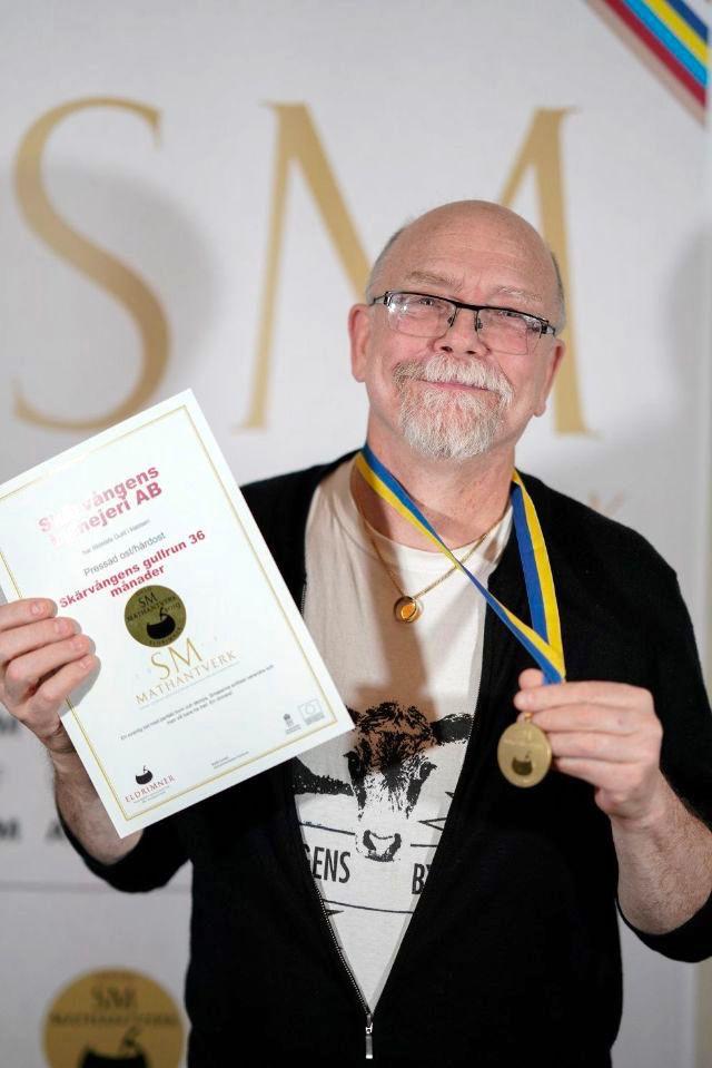 Tor Norrman, Skärvångens Bymejeri.