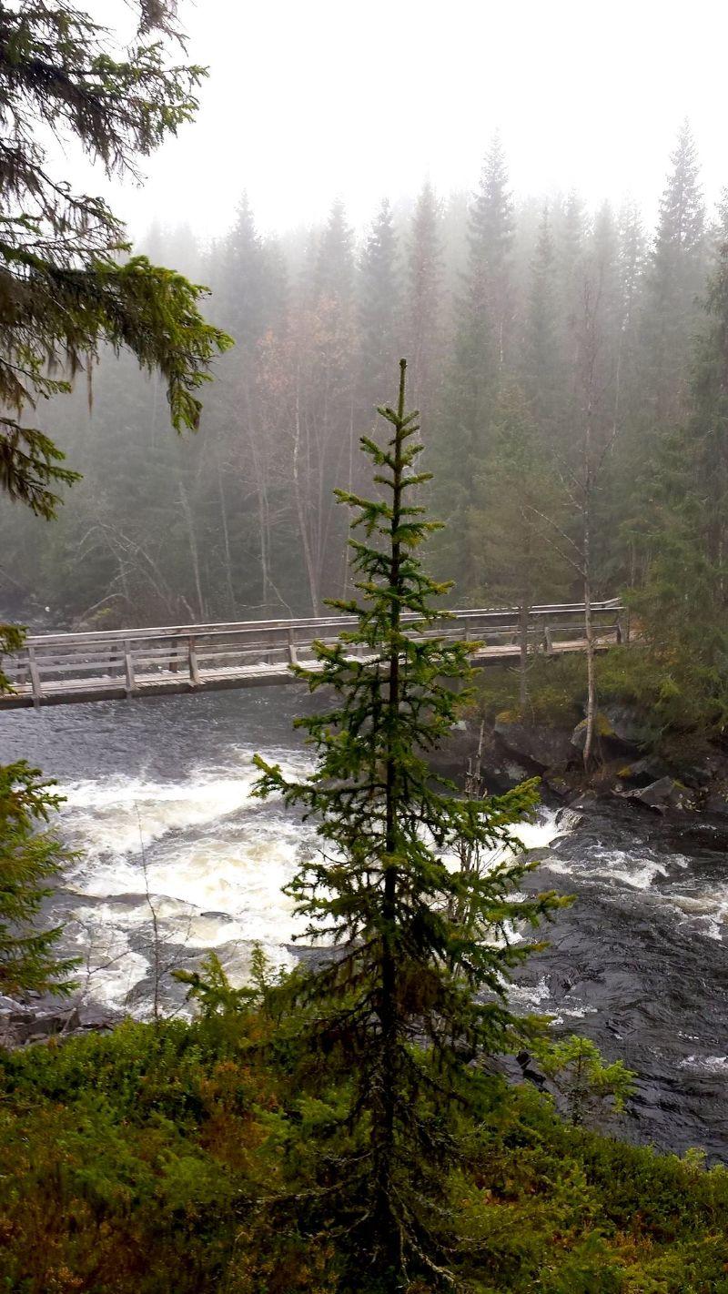 Strömhöjden, bro över Hasslingsån. Foto © Maritha Grelsson.