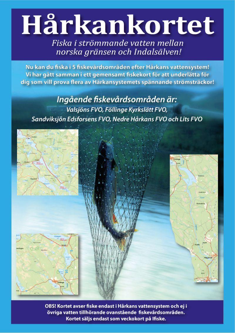 Info Hårkankortet fiskekort.