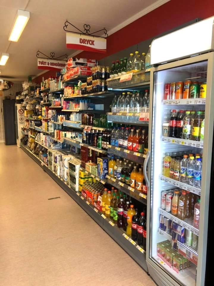 Butikssortiment hos Servicepunkt Handlarn i Rötviken