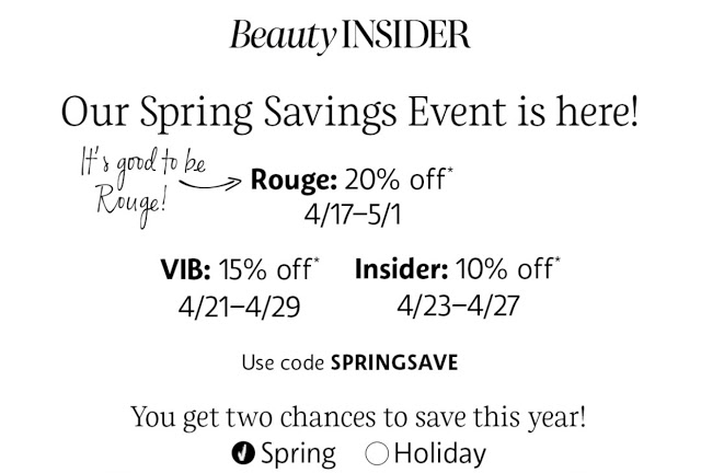Sephora Spring Savings Event Product Recommendations