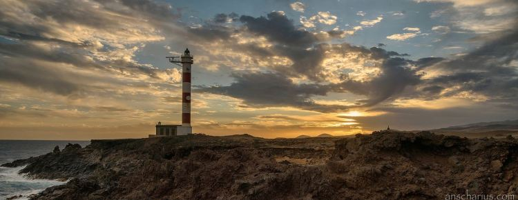 Teneriffa-Leuchtturm-Banner