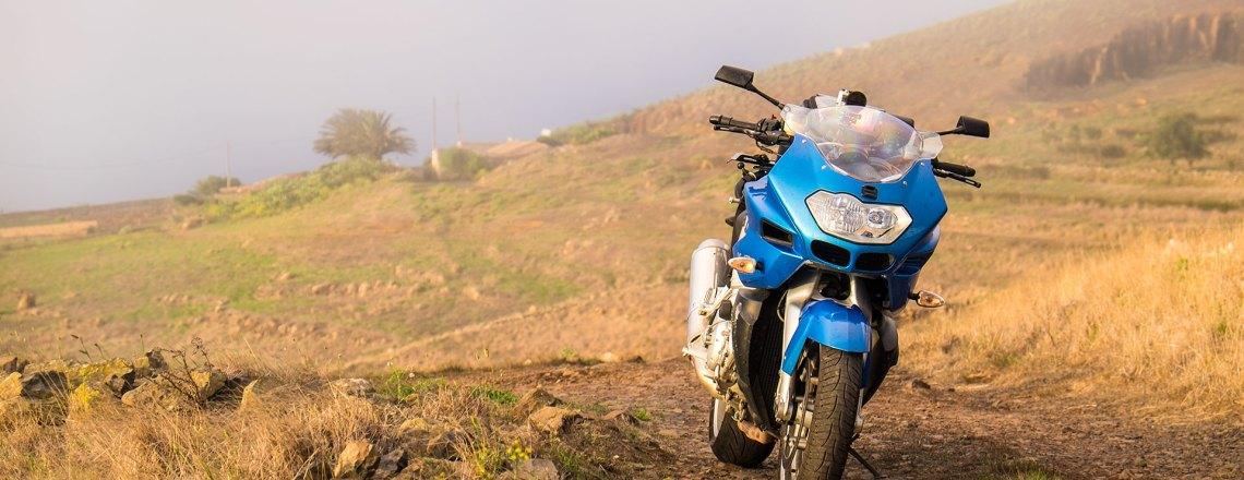 Mit dem eigenen Motorrad nach Teneriffa