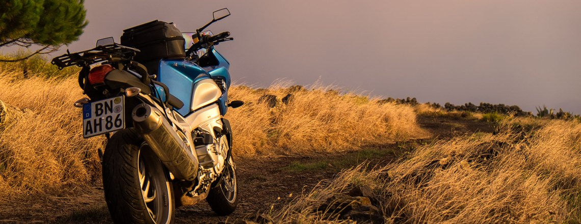 Teneriffa mit dem Motorrad erkunden