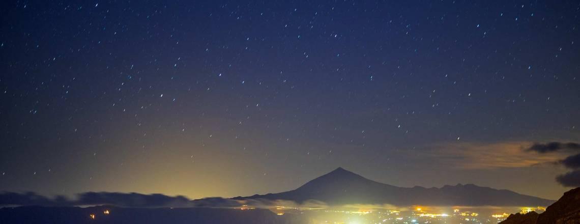 Der Sternenhimmel über La Gomera