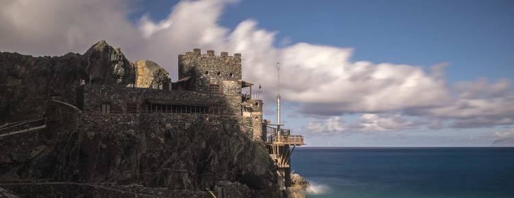 Castillo del Mar, La Gomera, 100 Days of Freedom das große Motorradabenteuer