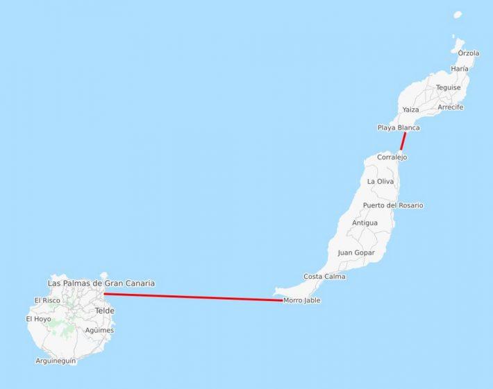 Ferry-Gran-Canaria-Fuerteventura