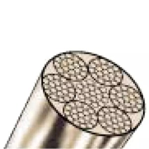 Stainless steel wire rope 7x19 wires