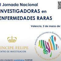 II Jornada Nacional Investigadoras en Enfermedades Raras
