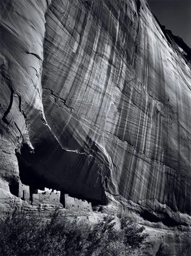 White House Ruin, Canyon de Chelly National Monument, Arizona, 1942 -- available as an Archival Replica