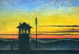 Railroad Sunset, 1929