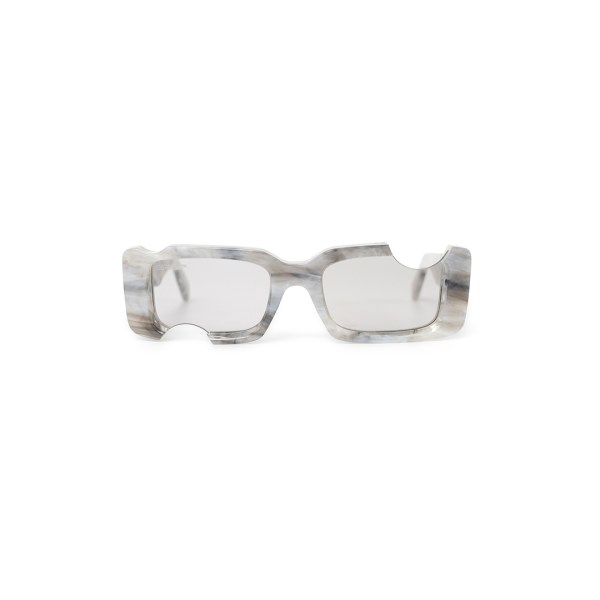 Off White cady sunglasses grey front