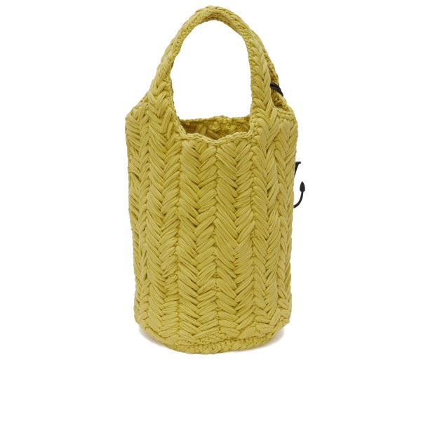 JW Anderson Knitted Shopper Yellow