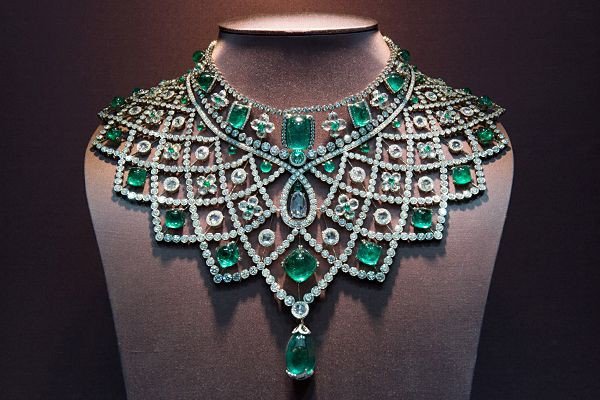 emerald house of faberge Romanov Necklace