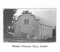 Modern Woodmen Hall, Ansley, Nebraska