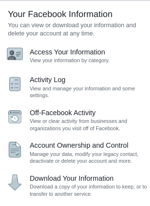 Account ownership and control