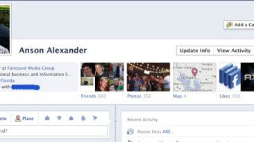 Facebook Timeline Enabled