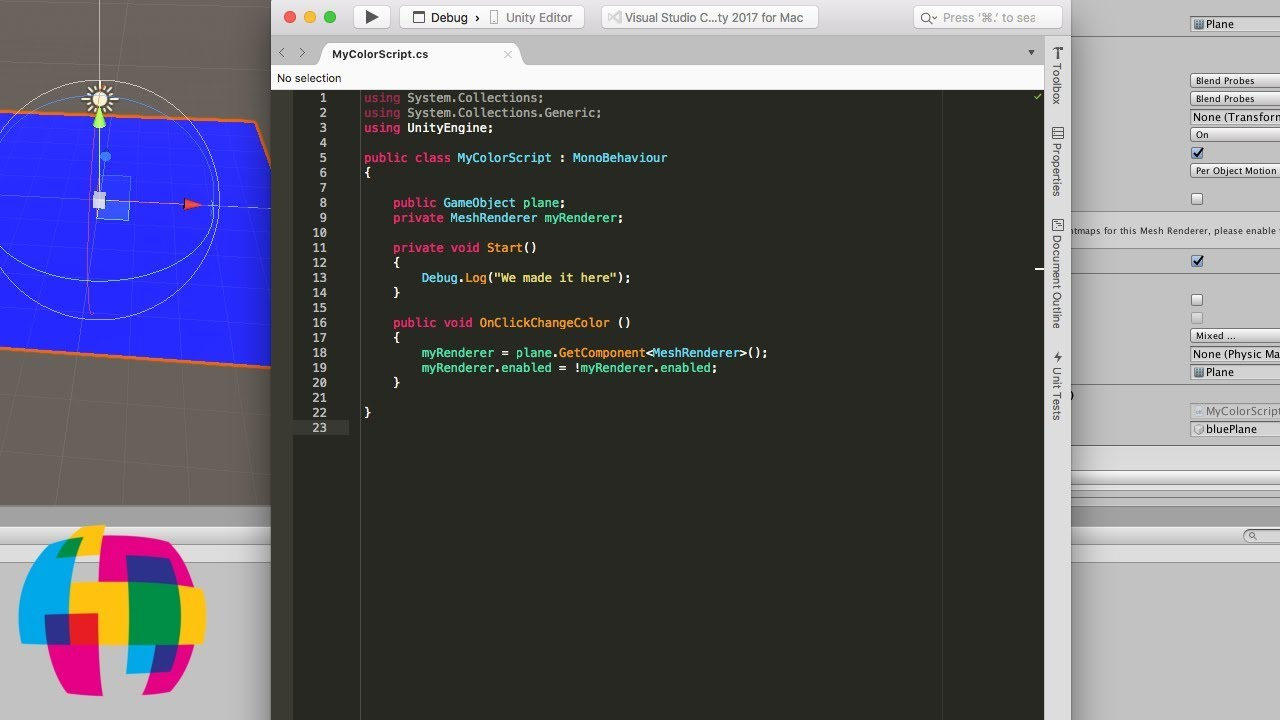 Coding C# in Unity for Beginners 2019 - Quick Start Training