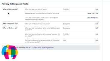 Facebook Privacy Settings Tutorial 2017