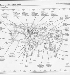 2007 ford escape hybrid wiring diagram and component locations [ 3032 x 2512 Pixel ]