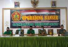 Laksanakan Upgrading Banser, PC GP Ansor Jombang Tegaskan Fungsi Banser Sebagai Benteng Ulama dan Pelopor Penggerak