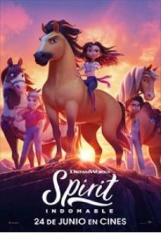 Spirit. Película. Animación. Dibujos animados.