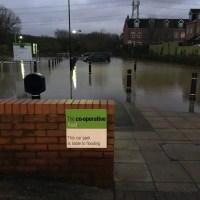 #Flooding Returns to #Anstey