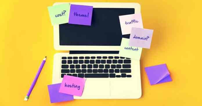 start wordpress website