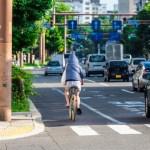車道を走る自転車は邪魔?自転車事故の危険性!