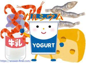 ビタミンB2の多い食品
