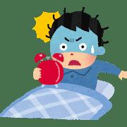 朝起きれない人は病気?昼間も眠い・会社に遅刻は重病?