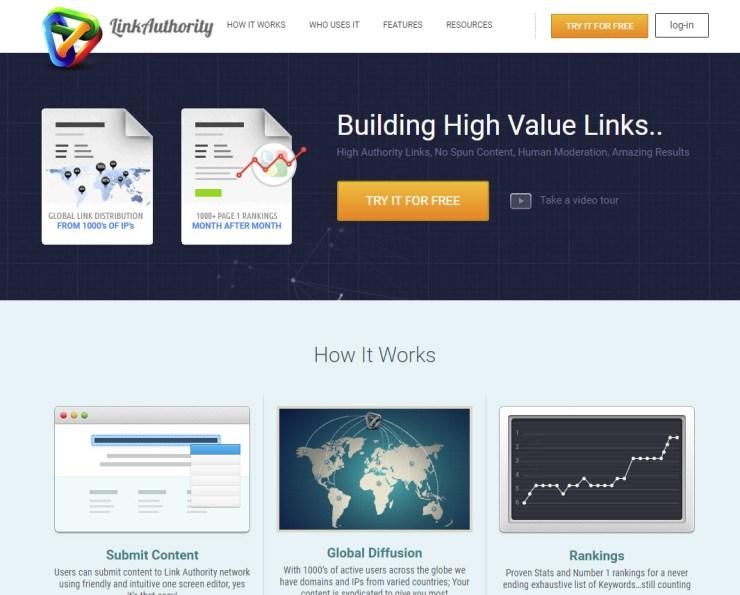 link authority guest blogging platform