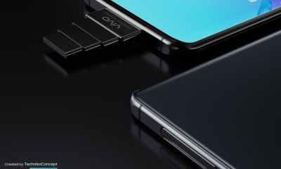 VIVO smartphone camera design
