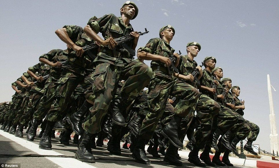 Most Powerful Militaries In Africa 2017