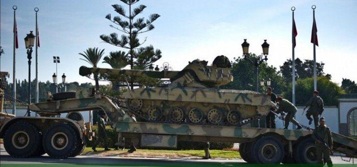 Tunisian military vehicle