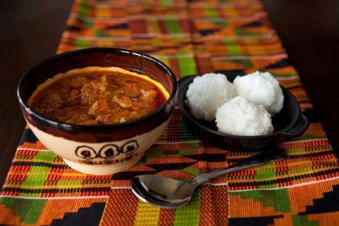 abenkwan palmnut soup - african soups