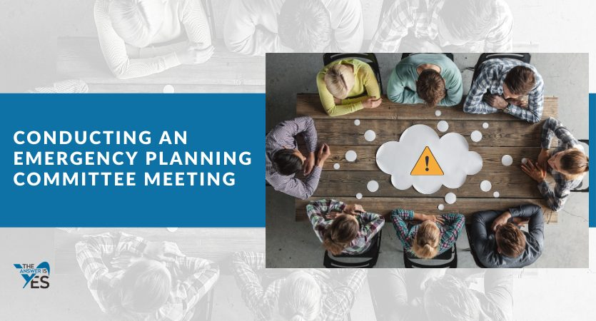 How to Conduct an Emergency Planning Committee Meeting