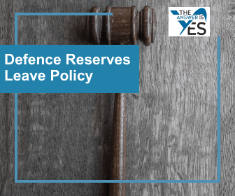 POL0109-Defence Reserves Leave Policy