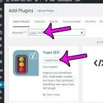 how to install the yoast seo plugin in wordpress 4.6.1