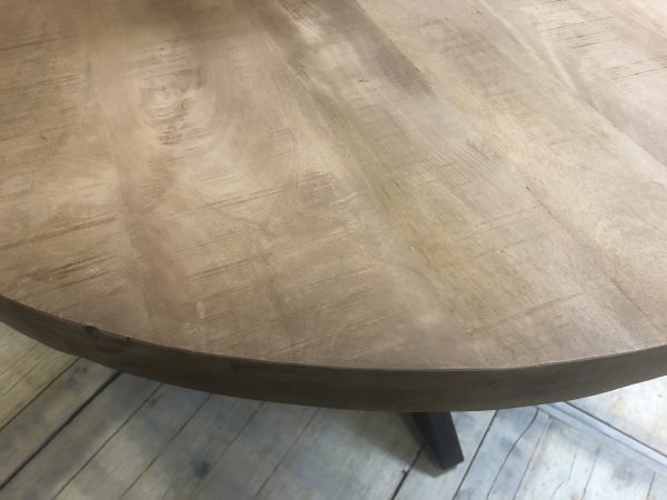 Industrile ronde eettafel Stur doorsnede 150 cm  Ans
