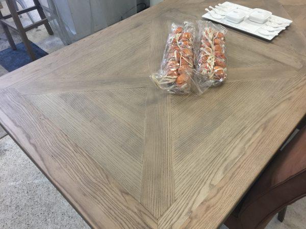 Industrile eettafel 200 cm  Ans Woonshop