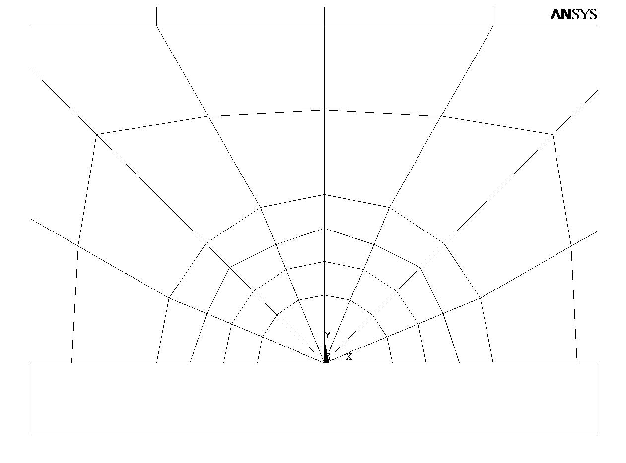 Stress intensity factor of a center cracked specimen