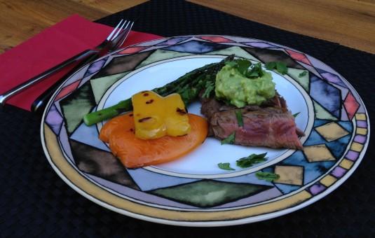 paleo diet challenge day 9 steak fajitas