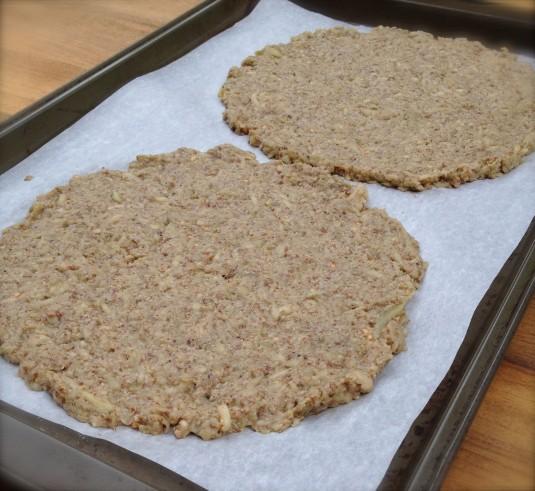paleo diet challenge day 24 eggplant flatbread