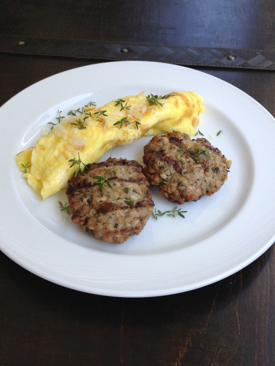 paleo day challenge day 25 breakfast sausages
